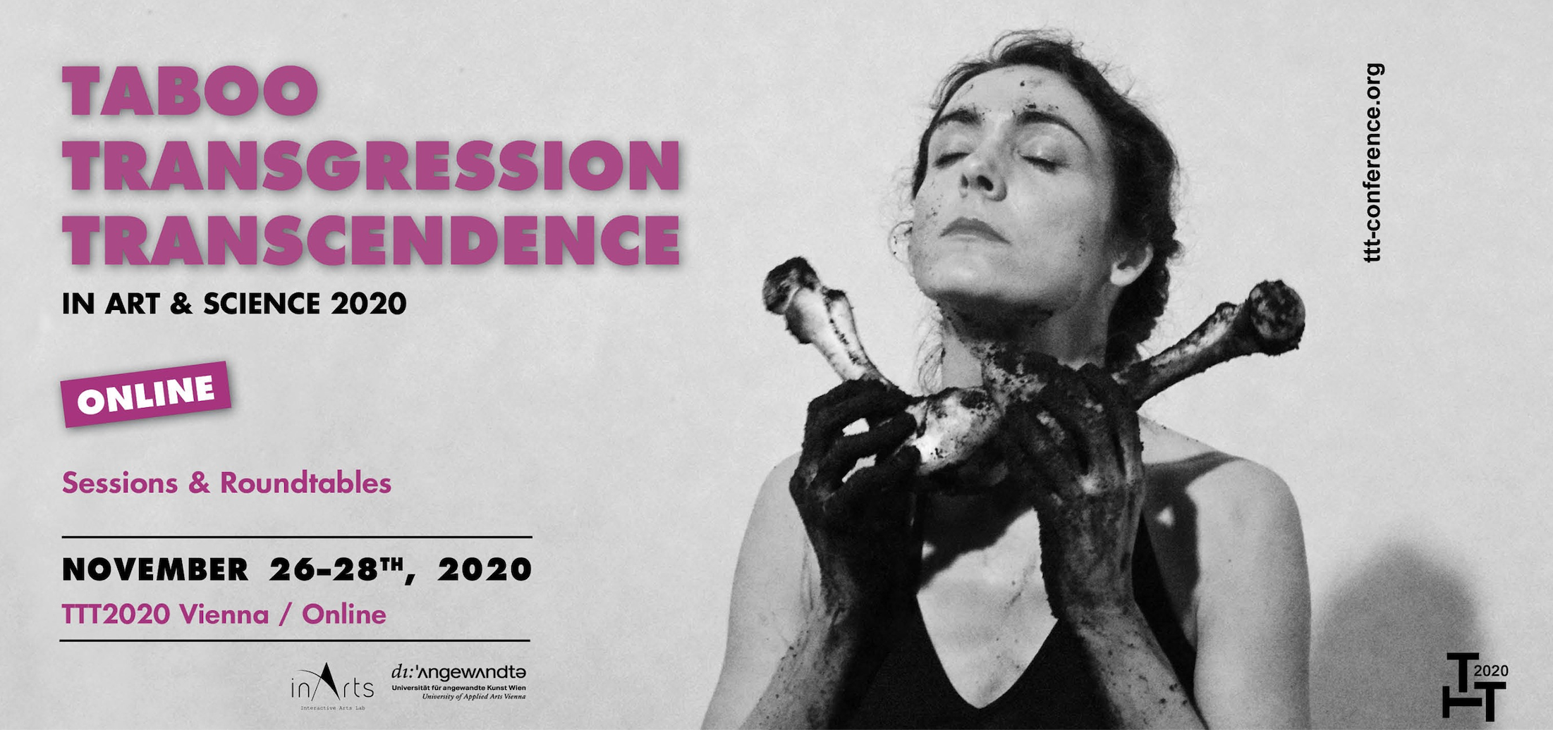Coming up next: The 4th international conference Taboo – Transgression – Transcendence in Art & Science in Vienna goes online