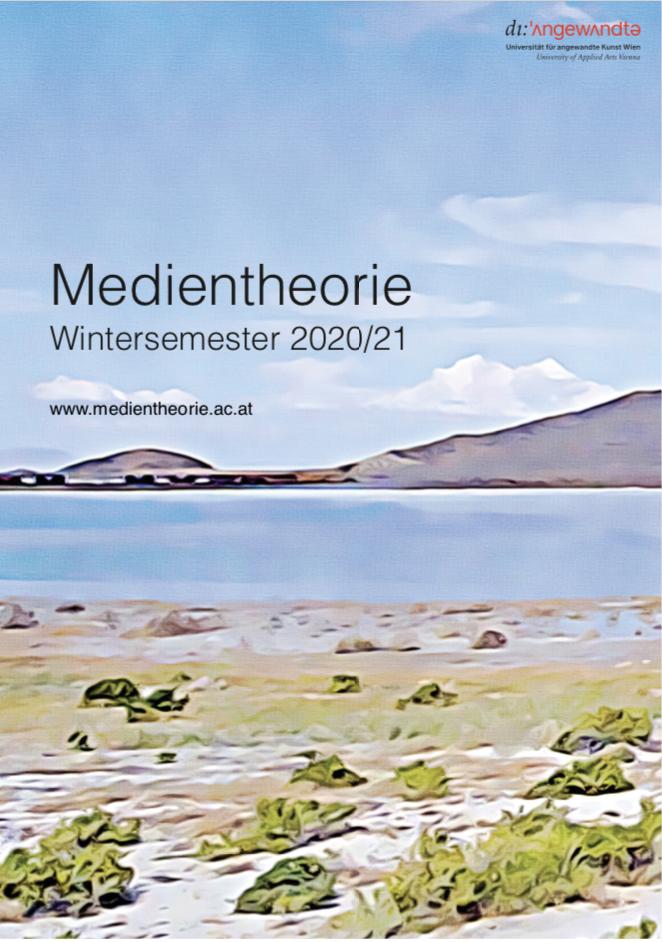Kommentiertes Vorlesungsverzeichnis Wintersemester 2020/21