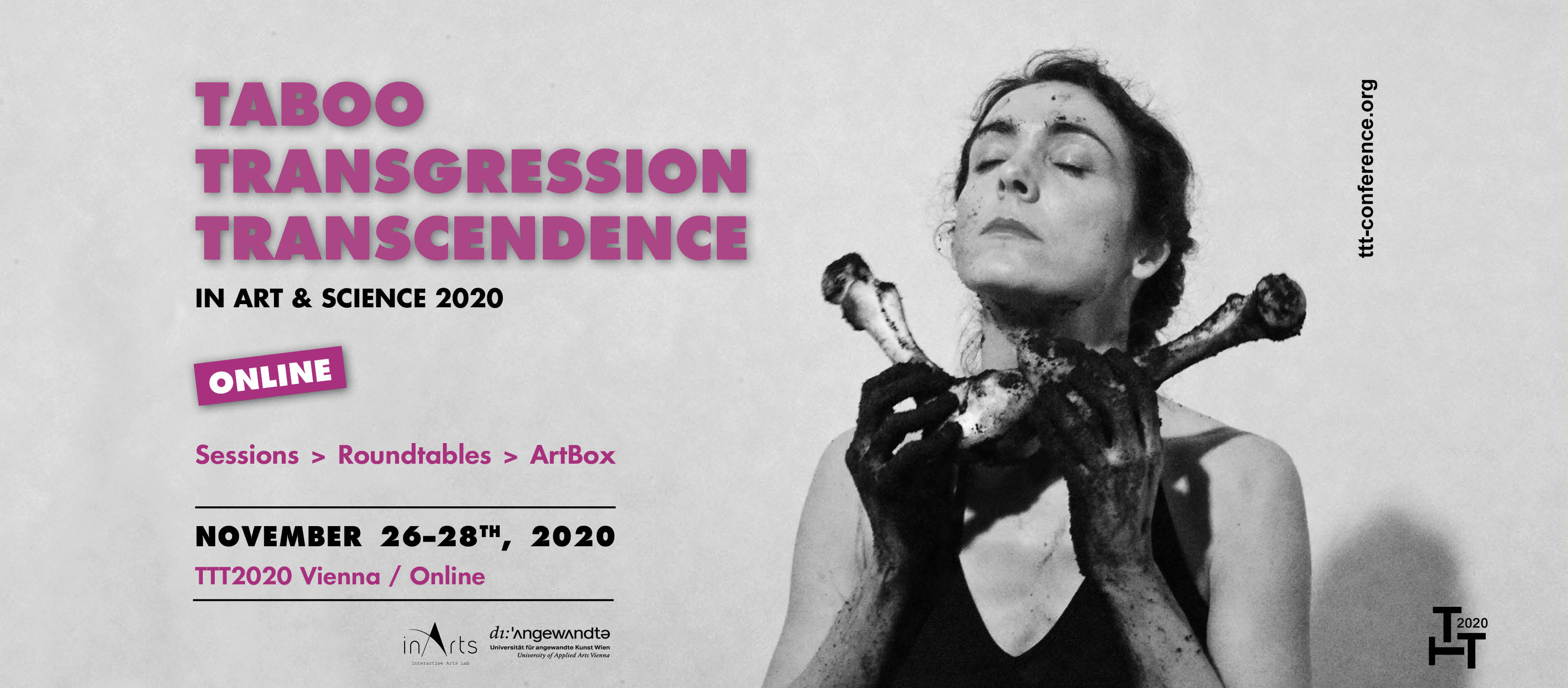 Programme of 4th international conference Taboo – Transgression – Transcendence in Art & Science is online and open for registration