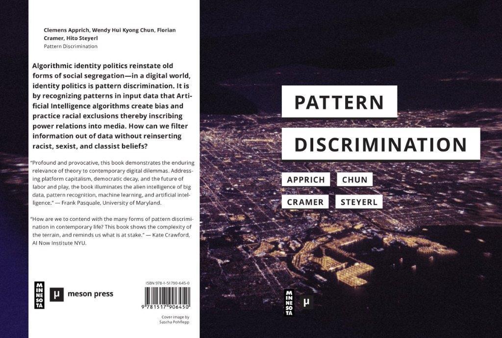 Pattern Discrimination – Antrittsveranstaltung von Clemens Apprich