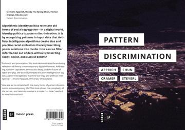 "Online Artist Talk – Digitale Kunst: Clemens Apprich ""Pattern Discrimination"""